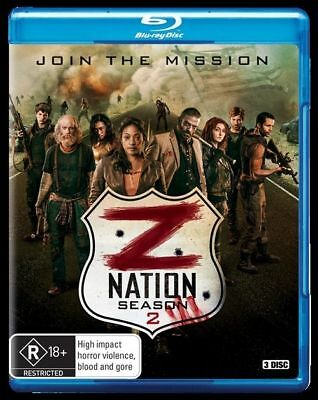 AU12.88 • Buy Z Nation : Season 2 - Blu-ray