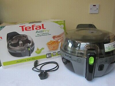 Tefal Actifry Family 1.5KG Low Fat Healthy Air Fryer - Black/Grey - Used • 199£