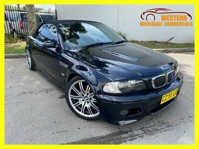 AU34990 • Buy 2003 BMW M3 E46 Convertible 2dr SMG 6sp 3.2i Black Automatic A Convertible