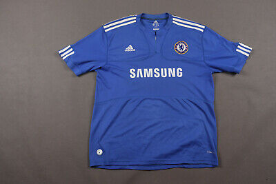 Chelsea London 2009/2010 Home Football Shirt Jersey Adidas Size Xl Adult • 11.99£