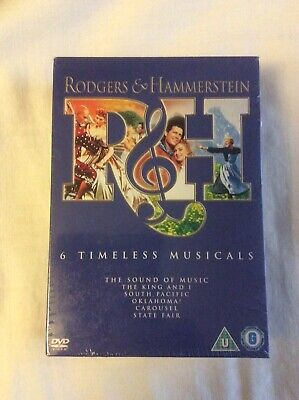 £3.99 • Buy Rodgers And Hammerstein DVD 6x Musicals Set, Brand New
