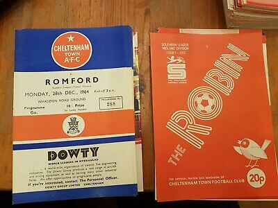 Selection Of Cheltenham Town Home Programmes UPDATED NOVEMBER 19th • 2.50£