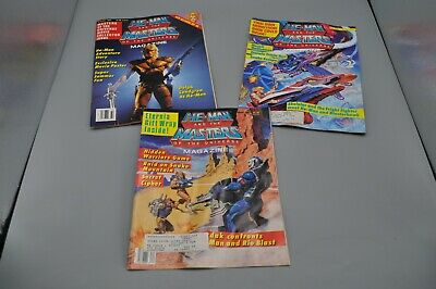 $31.64 • Buy HE-MAN And The MASTERS OF THE UNIVERSE Magazine 3 Book Lot 1987 1986 Fall Summer