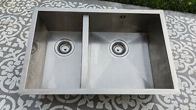 Cooke & Lewis Cajal Stainless Steel 1.5 Bowl Sink (very Good Condition) • 114£