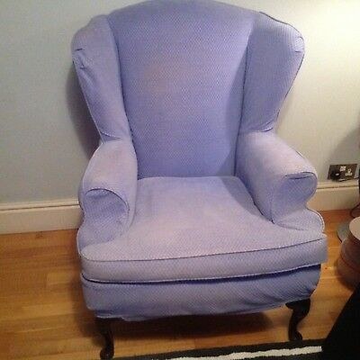 Richmond Wing Chair. Shaw & Alexander.designers Guild Bluebell. See All Photos.  • 175£