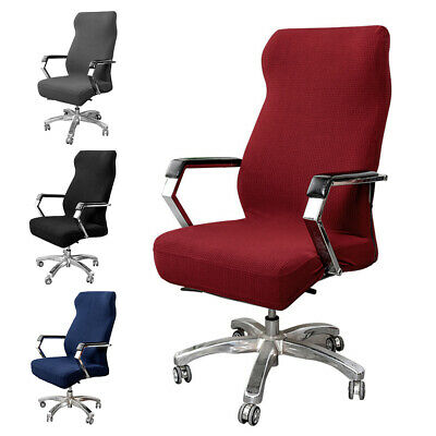 AU20.08 • Buy Stretch Computer Office Chair Covers Slipcovers Desk Rotat Seat Cover Protector#