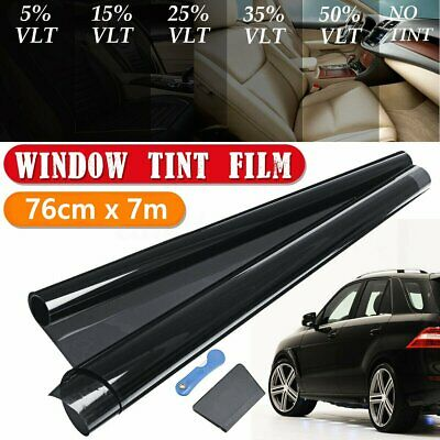 AU20.59 • Buy Window Tint Film Car Home Blackout Glass 76cmX7m Tinting Office Heat Reduces