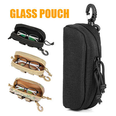 $10.69 • Buy Nylon Military Glasses Case Tactical Molle Accessory Pouch Sunglasses Box Holder