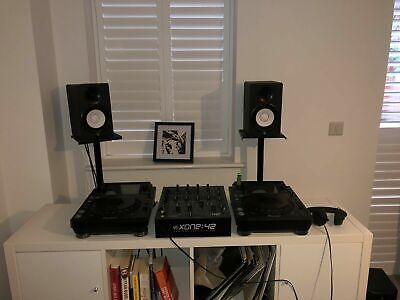 Yamaha HS-5 Speakers[With Stands / Cables]- Matched Pair Of Studio Monitors • 270£