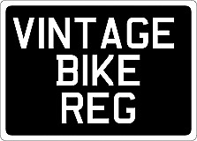 $19.32 • Buy VINTAGE BIKE SCOOTER NUMBER PLATE 7 X 5  177mm X 127 Mm ROYAL MAIL 1ST CLASS