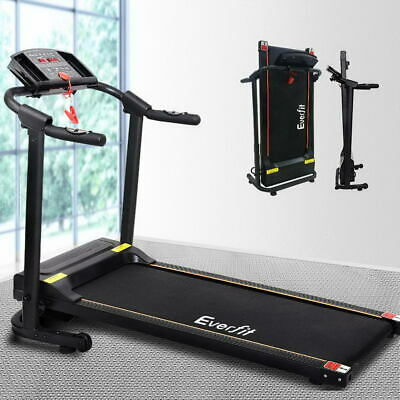 AU572.90 • Buy Everfit Electric Treadmill Home Gym Exercise Fitness Machine Equipment Running