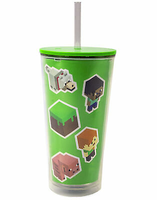 £12.99 • Buy Minecraft Cup Personalised Creeper Zombie Kids Gamer Gift Drinks Bottle