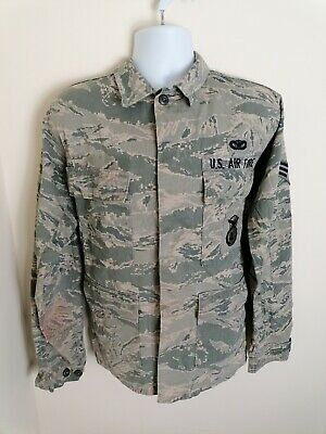 £26.90 • Buy US Air Force Mens Camouflage Jacket Size Small Regular