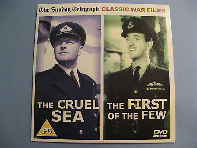 Daily Mail / The Cruel Sea & The First Of The Few / 2 Classic War Films / Dvd • 0.98£
