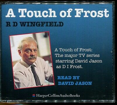 RD Wingfield / A Touch Of Frost - 3xCD Audiobook - MINT • 8£