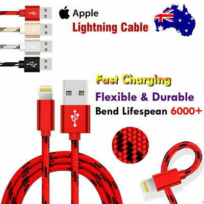 AU4.99 • Buy Lightning Charging Charger Cable For IPhone 12 11 Pro XS Max XR X 8 7 6S 6 SE