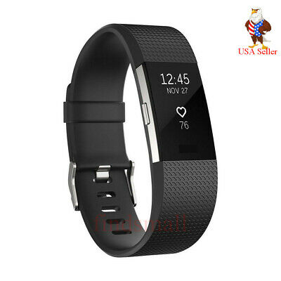 $ CDN90.80 • Buy Fitbit Charge 2 Heart Rate Monitor Fitness Tracker Wristband & All Colour