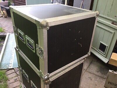 8u Shockmount Rack Flightcase • 120£