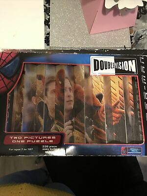 Double Vision Spider-Man Jigsaw Puzzle - 336 Piece • 1.50£