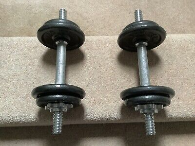 Dumbbell Weights Set - 4.kg On Each • 40£
