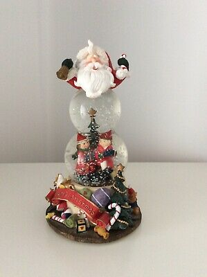 Father Christmas Snow Globe Ornament • 11.50£
