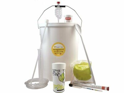 Cider Making Starter Kit - On The Rocks Pear Flavour Cider Kit 40 Pts Homebrew • 49.99£