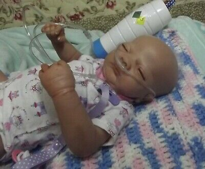 Breathing Cannula For Reborn Doll With Oxygen Tank • 9.29£
