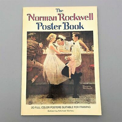 $ CDN25.94 • Buy 1976 First Edition 1st Printing THE NORMAN ROCKWELL Poster Book (20 Posters) EUC