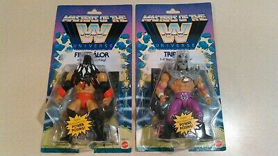 $64.35 • Buy WWE Masters Of The Universe Wave 1 Lot Of 2 Triple H & Finn Balor