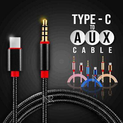 AU7.25 • Buy Type C USB-C To 3.5mm Male Audio AUX Cable Adapter For Car Stereo Samsung Huawei