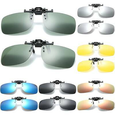 AU20.42 • Buy For Anti Sunlight Eyewear Polarized Clip Ons UV 400 Protection Driving Sunglasse