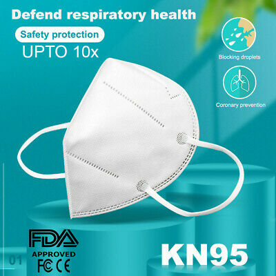 AU12.55 • Buy N95 KN95 Mask Disposable Masks Reusable Face Filter Anti Dust Respirator Upto10x