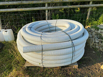 Perforated Pipe Coil For Tree Planting Drainage 100mm X 100metre Land Drain • 105£
