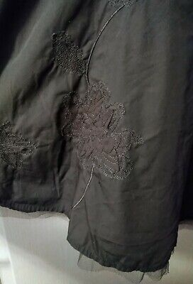 NEXT Size 20 Slate Grey Embellished Skirt Net Trim  • 10£