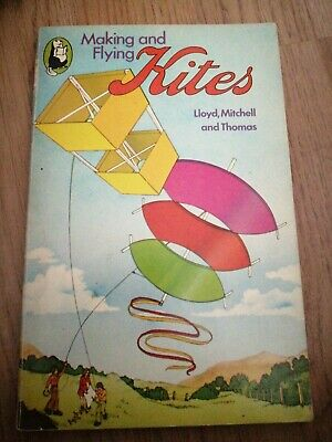 Vintage Making And Flying A Kite Book    • 6.99£