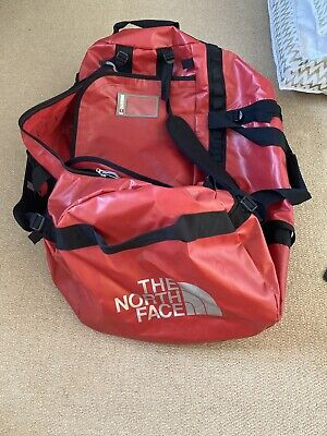 North Face Base Camp Duffle Bag - Large, Red, 95L • 25£