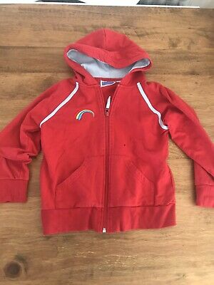 Girlguiding Rainbows Uniform Zip Up Hoodie - Small • 4.50£