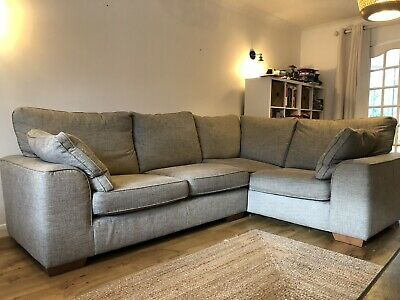 M&S Corner Sofa And Armchair, Good Used Condition Not To Be Missed! • 360£