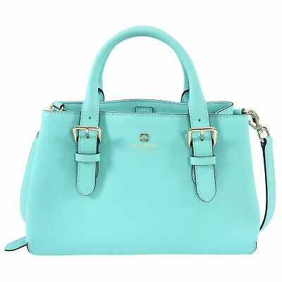 $ CDN115 • Buy Kate Spade Small Turquoise Satchel Two-Way Bag