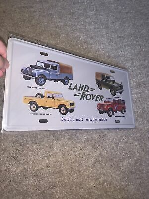 Land Rover Metal Wall Plaque Retro Collectable Tin Sign For Man Cave Shed Garage • 4.50£