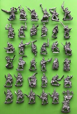 Warhammer Fantasy X36 Dark Elves Dark Elf Elves Games Workshop Citadel Metal GW • 80£