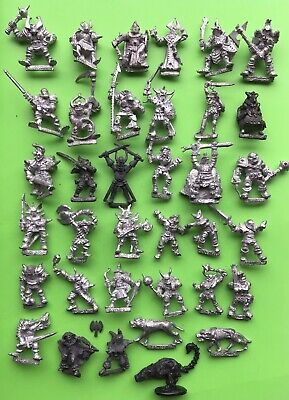Warhammer Fantasy Chaos Warriors Army Marauder Games Workshop Citadel Metal X36 • 80£