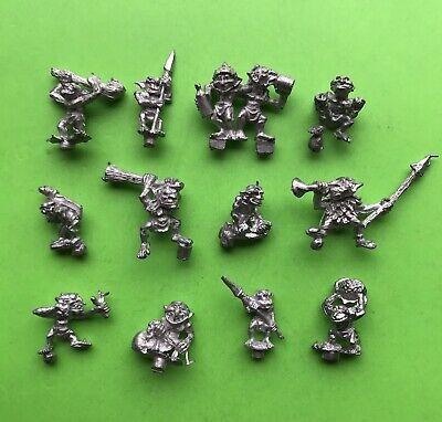 Warhammer Fantasy Snotlings X12 Citadel Miniatures Games Workshop Metal GW Orcs • 20£