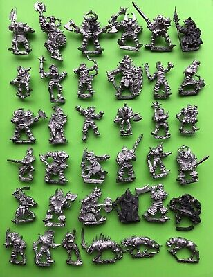 Warhammer Fantasy Chaos Warriors Army Marauder Games Workshop Citadel Metal X36 • 82£