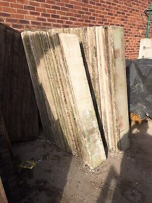 Used Concrete Base Panels 6'x1' Gravel Boards Only £4 Ea CHECK STOCK BEFORE BID • 50£