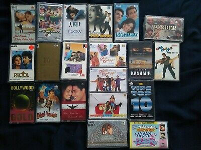 Bollywood/Hindi Tapes/Cassette Job Lot Of 20 ~ Top Titles , Remix, Lucky,  • 29.99£