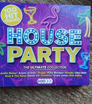 100 Hit Tracks House Party 5 CD Set • 1.50£