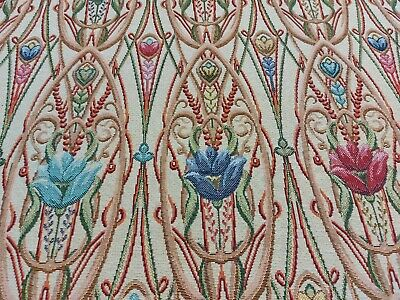 Traditional Liberty Arts & Crafts Nouveau Tapestry Curtain/Upholstery Fabric  • 18.95£