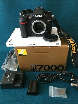 Nikon D7000 16.2 MP Digital SLR Camera Body Only Very Low Shutter Count 8316 • 150£