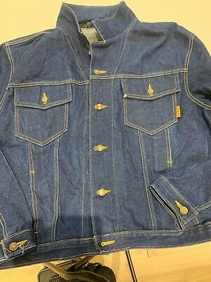 HMP Prison Denim Jacket - Brand New - Large - Genuine With Label - Perfect  • 0.99£